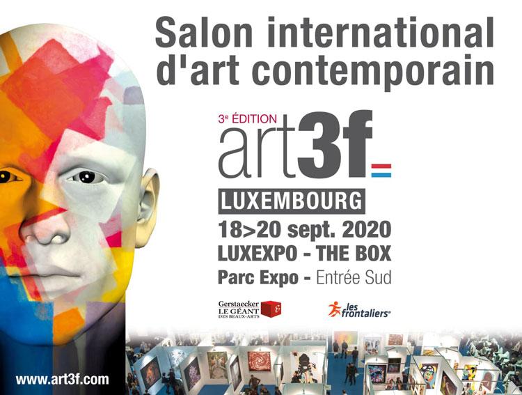 ART3f LUXEMBOURG galerie d'Art laramée leslie berthet laval artiste peintre